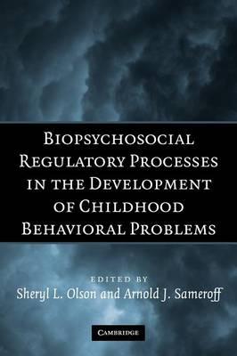 Biopsychosocial Regulatory Processes in the Development of Childhood Behavioral Problems (Paperback)