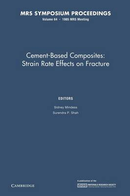 MRS Proceedings Cement-Based Composites: Volume 64 (Paperback)