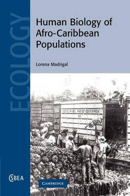 Human Biology of Afro-Caribbean Populations - Cambridge Studies in Biological and Evolutionary Anthropology 45 (Paperback)