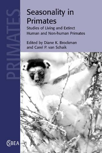 Cambridge Studies in Biological and Evolutionary Anthropology: Seasonality in Primates: Studies of Living and Extinct Human and Non-Human Primates Series Number 44 (Paperback)
