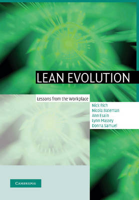 Lean Evolution: Lessons from the Workplace (Paperback)