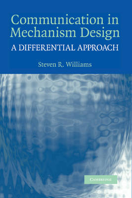 Communication in Mechanism Design: A Differential Approach (Paperback)