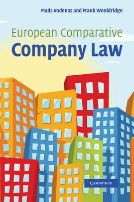 European Comparative Company Law (Paperback)