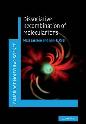Cambridge Molecular Science: Dissociative Recombination of Molecular Ions (Paperback)