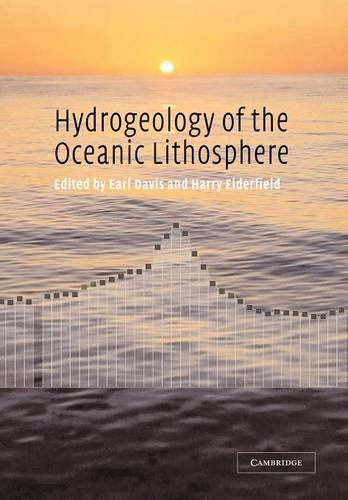 Hydrogeology of the Oceanic Lithosphere (Paperback)