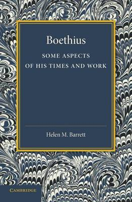 Boethius: Some Aspects of his Times and Work (Paperback)