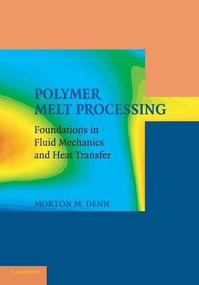 Cambridge Series in Chemical Engineering: Polymer Melt Processing: Foundations in Fluid Mechanics and Heat Transfer (Paperback)