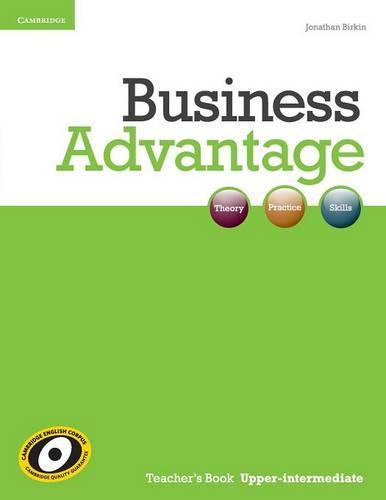 Business Advantage Upper-intermediate Teacher's Book - Business Advantage (Paperback)