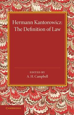 The Definition of Law (Paperback)