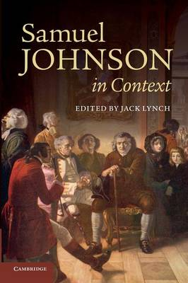 Literature in Context: Samuel Johnson in Context (Paperback)