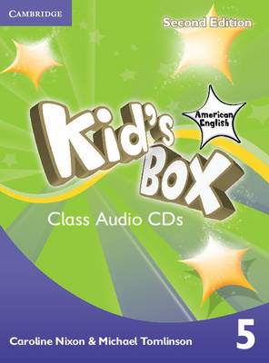 Kid's Box American English Level 5 Class Audio CDs (3) (CD-Audio)