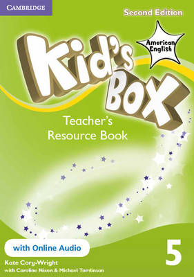 Kid's Box American English Level 5 Teacher's Resource Book with Online Audio
