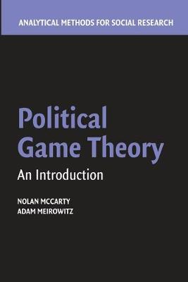 Political Game Theory: An Introduction (Paperback)