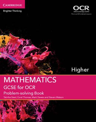 GCSE Mathematics OCR: GCSE Mathematics for OCR Higher Problem-solving Book (Paperback)