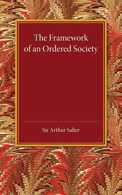 The Framework of an Ordered Society (Paperback)