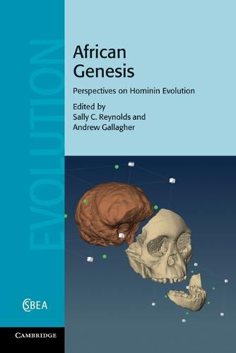 African Genesis: Perspectives on Hominin Evolution - Cambridge Studies in Biological and Evolutionary Anthropology 62 (Paperback)