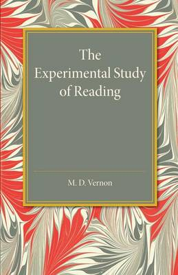 The Experimental Study of Reading (Paperback)