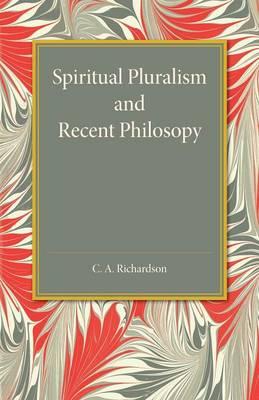 Spiritual Pluralism and Recent Philosophy (Paperback)
