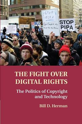 The Fight over Digital Rights: The Politics of Copyright and Technology (Paperback)