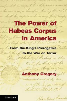 The Power of Habeas Corpus in America: From the King's Prerogative to the War on Terror (Paperback)
