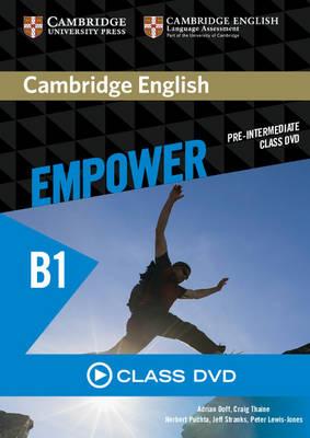 Cambridge English Empower Pre-intermediate Class DVD (DVD video)