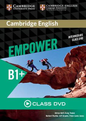 Cambridge English Empower Intermediate Class DVD (DVD video)