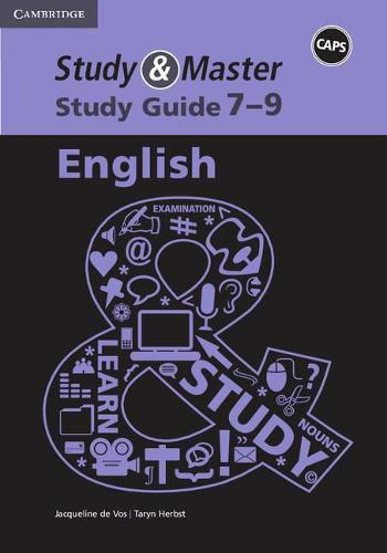 Study and Master English Senior Phase Caps Study Guide (Paperback)