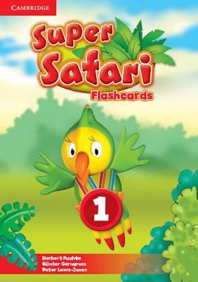 Super Safari Level 1 Flashcards (Pack of 40)