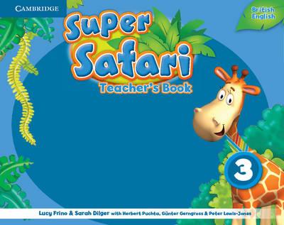 Super Safari Level 3 Teacher's Book (Spiral bound)