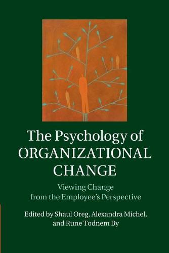 The Psychology of Organizational Change: Viewing Change from the Employee's Perspective (Paperback)