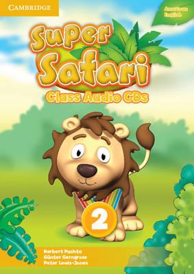 Super Safari American English Level 2 Class Audio CDs (2) (CD-Audio)