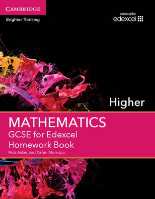 GCSE Mathematics Edexcel: GCSE Mathematics for Edexcel Higher Homework Book (Paperback)