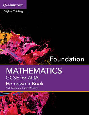 GCSE Mathematics for AQA Foundation Homework Book - GCSE Mathematics AQA (Paperback)