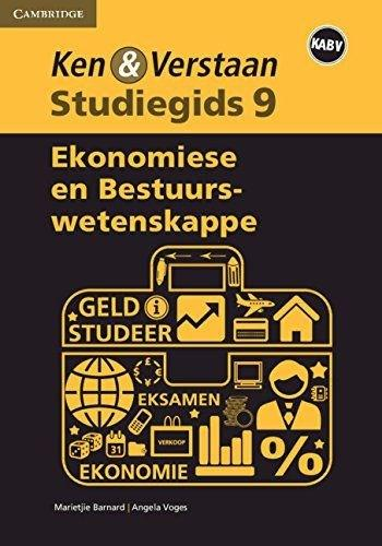 Study and Master Economic and Management Sciences Grade 9 Study Guide Afrikaans Edition (Paperback)