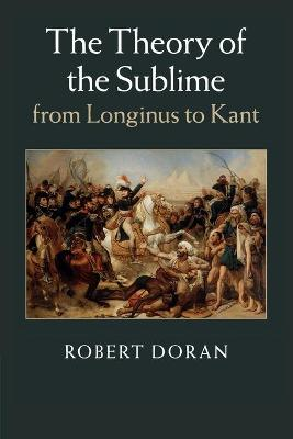 The Theory of the Sublime from Longinus to Kant (Paperback)