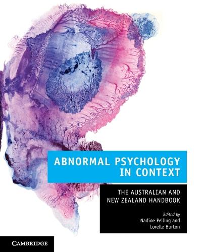 Abnormal Psychology in Context: The Australian and New Zealand Handbook (Paperback)