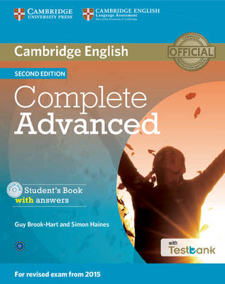Complete Advanced Student's Book with Answers with CD-ROM with Testbank - Complete