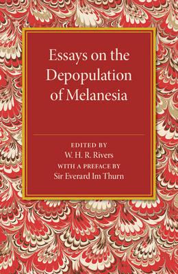 Essays on the Depopulation of Melanesia (Paperback)