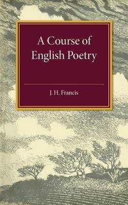 A Course of English Poetry (Paperback)