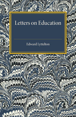 Letters on Education (Paperback)