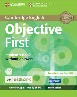 Objective First Student's Book without Answers with CD-ROM with Testbank - Objective