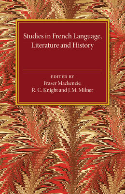 Studies in French Language Literature and History (Paperback)