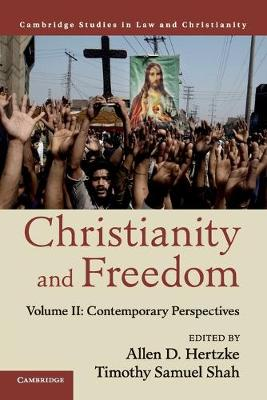 Law and Christianity Christianity and Freedom: Contemporary Perspectives Volume 2 (Paperback)