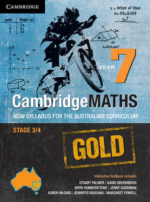 Cambridge Mathematics GOLD NSW Syllabus for the Australian Curriculum Year 7 Pack