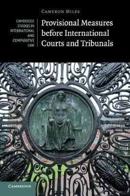 Cambridge Studies in International and Comparative Law: Provisional Measures before International Courts and Tribunals Series Number 128 (Paperback)