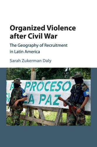 Organized Violence after Civil War: The Geography of Recruitment in Latin America - Cambridge Studies in Comparative Politics (Paperback)