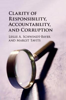 Clarity of Responsibility, Accountability, and Corruption (Paperback)