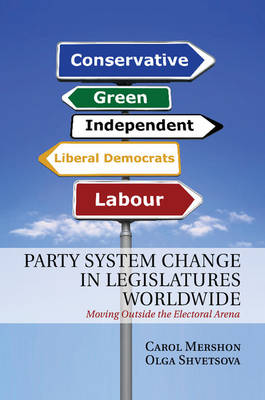 Party System Change in Legislatures Worldwide: Moving Outside the Electoral Arena (Paperback)