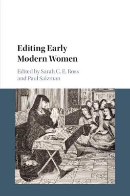 Editing Early Modern Women (Paperback)
