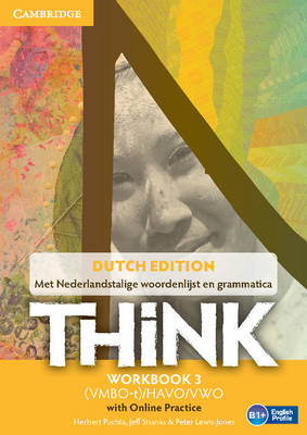 Think Level 3 Workbook with Online Practice (for the Netherlands): Level 3